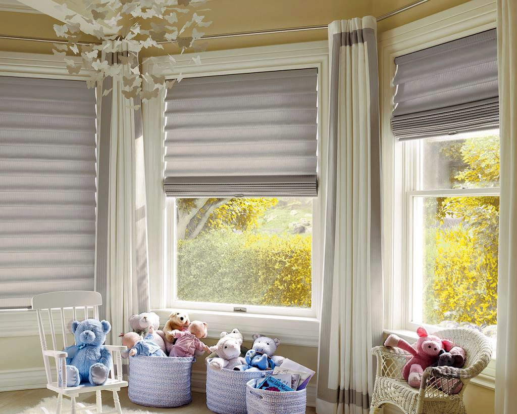 toronto roman shades, toronto window coverings