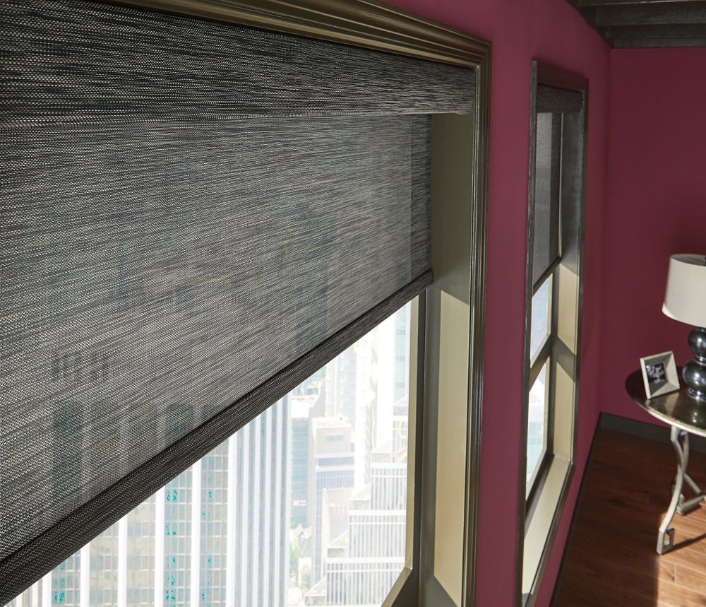 toronto roller shades, toronto solar shades, luxury window coverings toronto