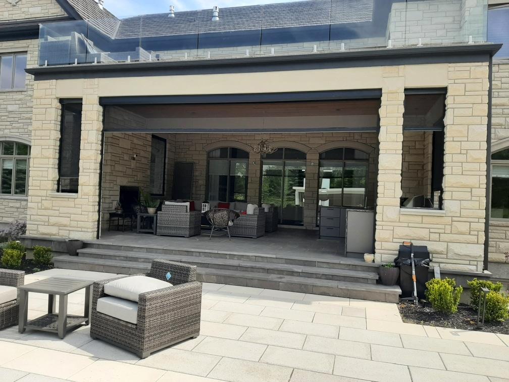 Outdoor shades, outdoor privacy screens toronto